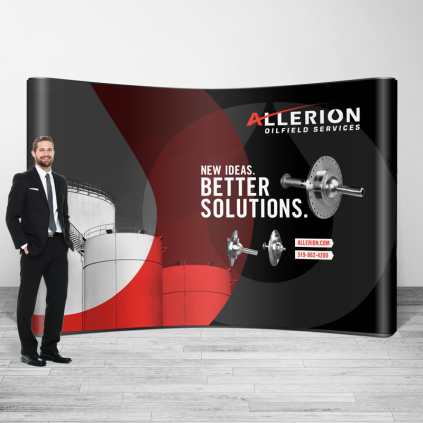 Allerion Trade Show Booth
