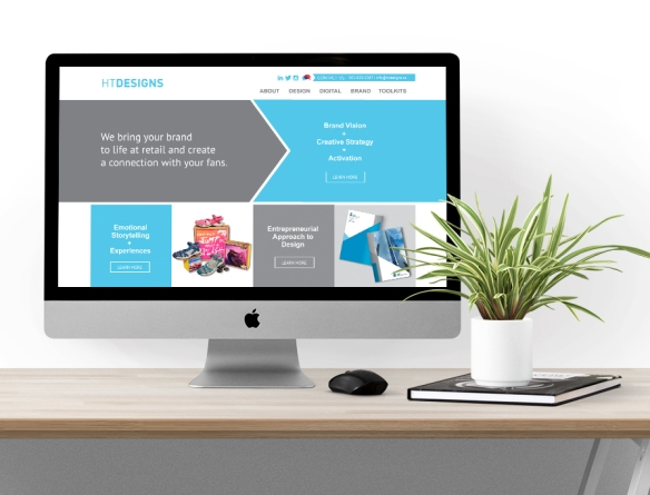 HT Designs Responsive Website